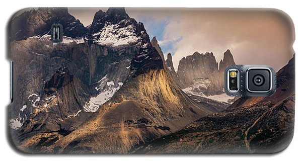Galaxy S5 Case featuring the photograph Sunlight On The Mountain by Andrew Matwijec
