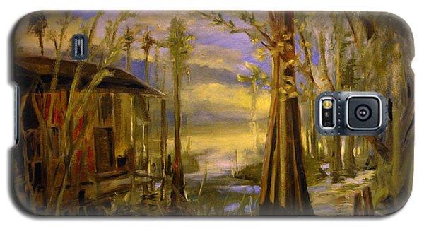Sunlight On The Swamp Galaxy S5 Case