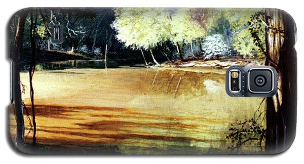 Sunlight On Village Creek Galaxy S5 Case