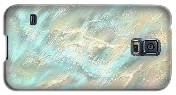 Galaxy S5 Case featuring the digital art Sunlight On Water by Amyla Silverflame