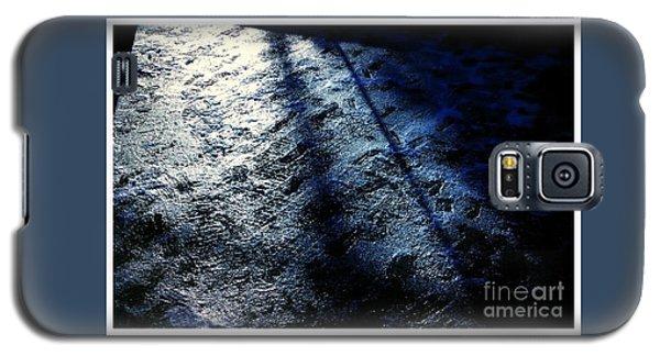 Sunlight Shadows On Ice - Abstract Galaxy S5 Case