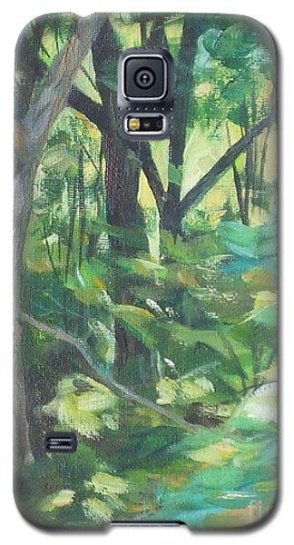 Sunlit Backyard Galaxy S5 Case