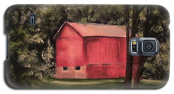 Sunlit Barn Galaxy S5 Case by Sharon Schultz