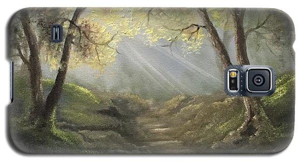 Sunlit Forrest  Galaxy S5 Case