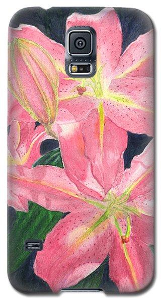 Sunlit Lilies Galaxy S5 Case
