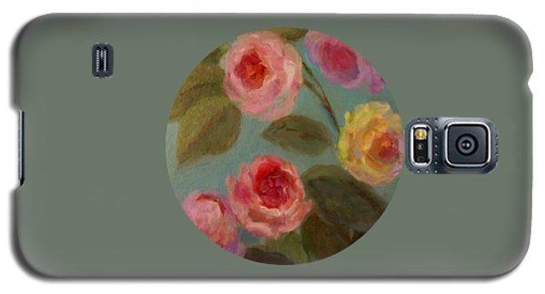 Sunlit Roses Galaxy S5 Case