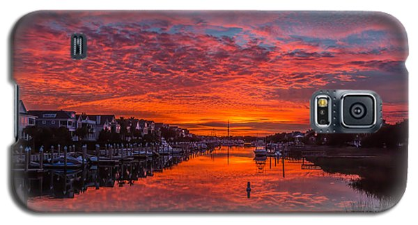 Sunlit Sky Over Morgan Creek -  Wild Dunes On The Isle Of Palms Galaxy S5 Case