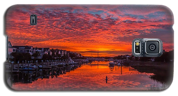 Sunlit Sky Over Morgan Creek -  Wild Dunes On The Isle Of Palms Galaxy S5 Case
