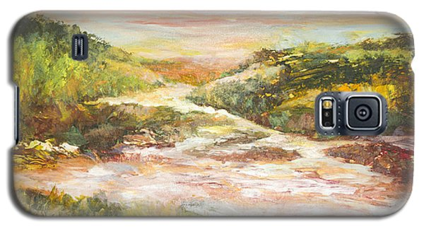 Sunlit Stream Galaxy S5 Case by Glory Wood