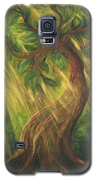 Sunlit Tree Galaxy S5 Case
