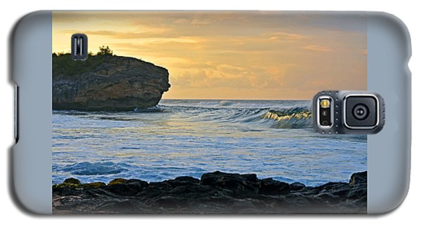 Sunlit Waves - Kauai Dawn Galaxy S5 Case by Marie Hicks