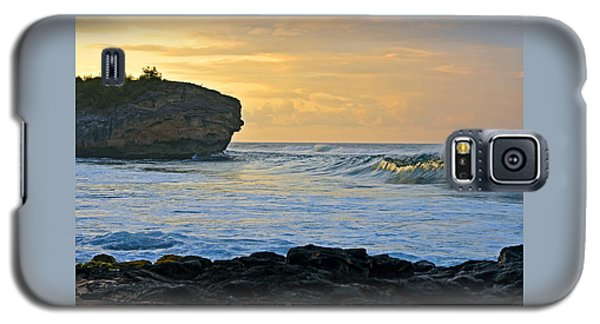 Sunlit Waves - Kauai Dawn Galaxy S5 Case