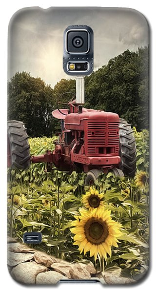 Galaxy S5 Case featuring the photograph Sunny Acres by Robin-Lee Vieira
