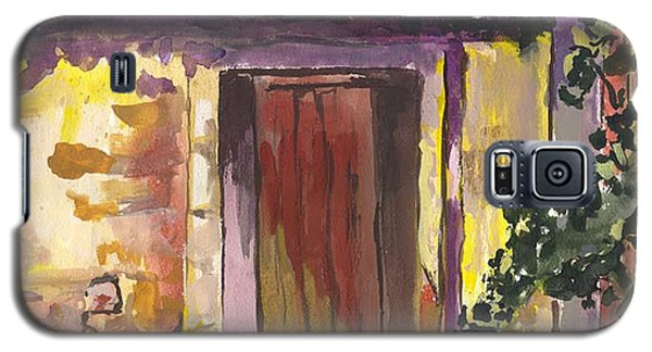 Galaxy S5 Case featuring the digital art Sunny Doorway by Darren Cannell