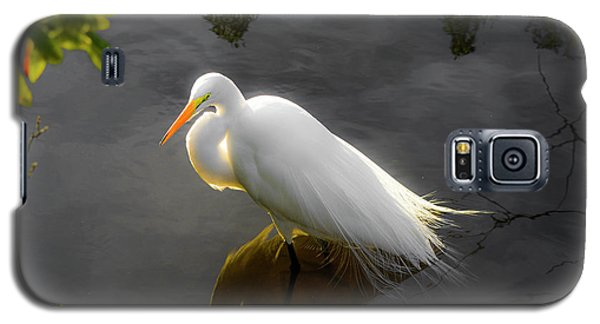 Sunny Egret Galaxy S5 Case by Josy Cue