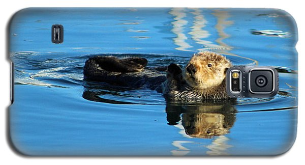 Sunny Faced Sea Otter Galaxy S5 Case