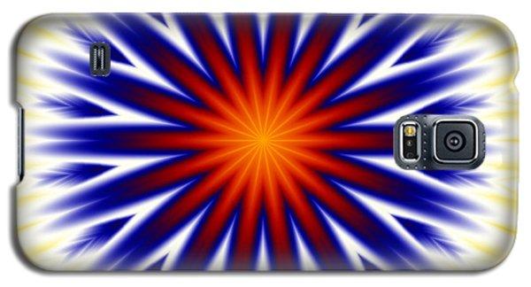 Sunny Fractal Tie Dye Galaxy S5 Case