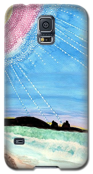 Sunny Ocean Days Are Bigger Than Life Galaxy S5 Case