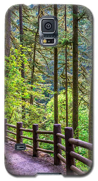 Sunny Path Galaxy S5 Case by Jerry Cahill
