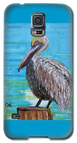 Sunny Pelican Day Galaxy S5 Case