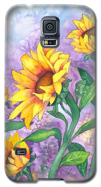 Sunny Sunflowers Galaxy S5 Case by Kristen Fox