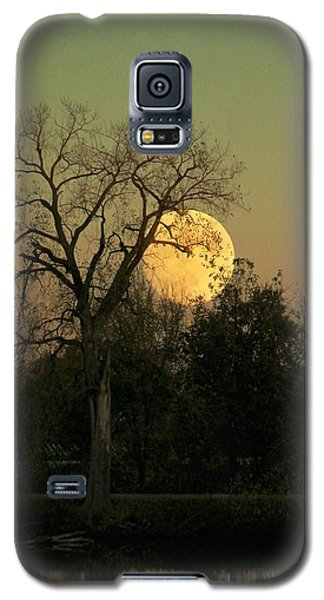 Galaxy S5 Case featuring the photograph November Supermoon  by Chris Berry