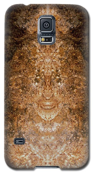 Galaxy S5 Case featuring the photograph Sunqueen Of Woodstock by Nancy Griswold