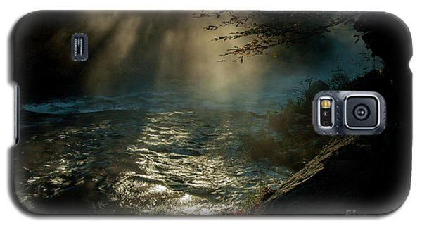 Sunrays At Fork River Galaxy S5 Case