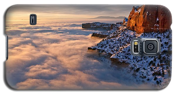 Sunrise Above The Clouds Galaxy S5 Case