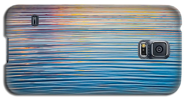 Sunrise Abstract On Calm Waters Galaxy S5 Case