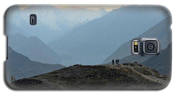 Sunrise Among The Karakoram Mountains In Hunza Valley Pakistan Galaxy S5 Case