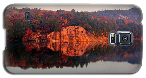 Sunrise And Harmony Galaxy S5 Case by Debbie Oppermann