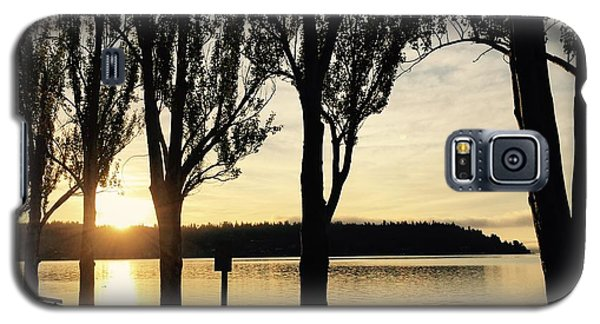 Sunrise And Silhouettes  Galaxy S5 Case