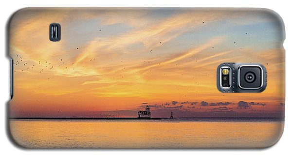 Galaxy S5 Case featuring the photograph Sunrise And Splendor by Bill Pevlor