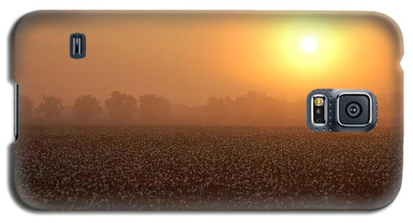 Sunrise And The Cotton Field Galaxy S5 Case
