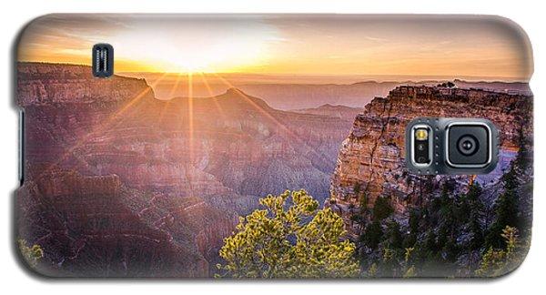 Sunrise At Angel's Window Grand Canyon Galaxy S5 Case
