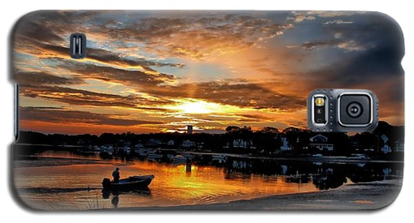 Sunrise At Back Cove Galaxy S5 Case