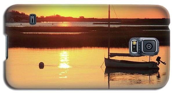 Galaxy S5 Case featuring the photograph Sunrise At Bass River by Roupen  Baker