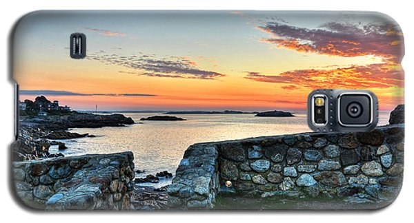 Sunrise At Castle Rock Marblehead Ma Galaxy S5 Case
