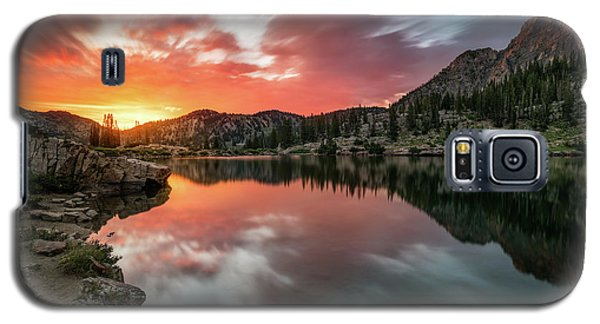 Sunrise At Cecret Lake Galaxy S5 Case