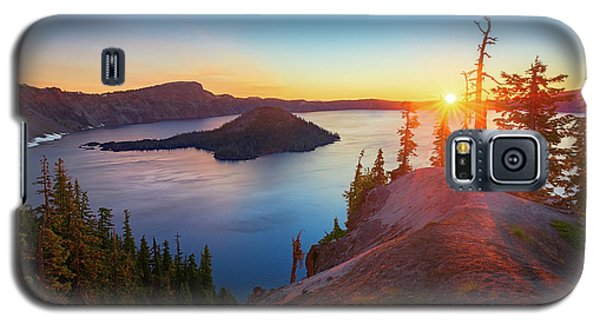 Sunrise At Crater Lake Galaxy S5 Case