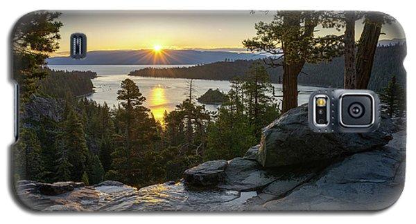 Sunrise At Emerald Bay In Lake Tahoe Galaxy S5 Case