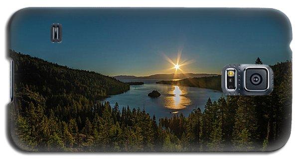 Sunrise At Emerald Bay Galaxy S5 Case