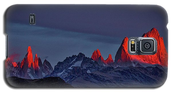 Sunrise At Fitz Roy #2 - Patagonia Galaxy S5 Case