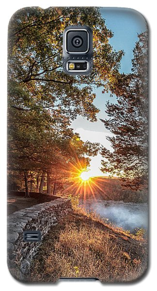 Sunrise At Great Bend Galaxy S5 Case