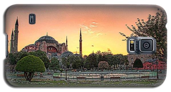 Sunrise At Hagia Sophia Galaxy S5 Case