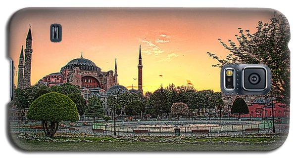 Sunrise At Hagia Sophia Galaxy S5 Case