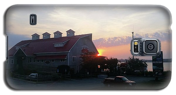 Sunrise At Hooper's Crab House Galaxy S5 Case