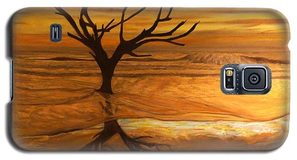 Sunrise At Hunting Beach Galaxy S5 Case