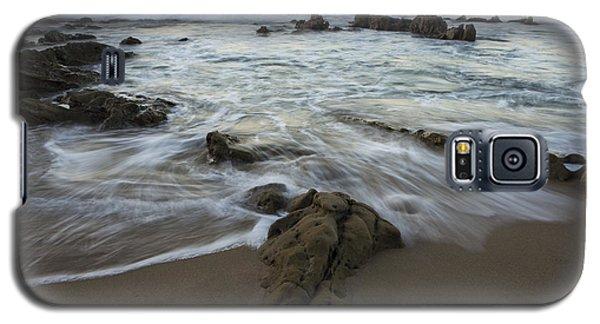 Galaxy S5 Case featuring the photograph Sunrise At Laguna Beach by Keith Kapple